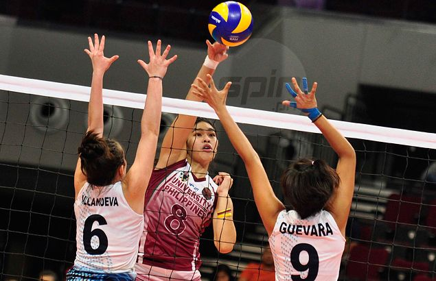 UP's rousing win over Adamson comes at a cost as ace blocker Kathy Bersola suffers injury